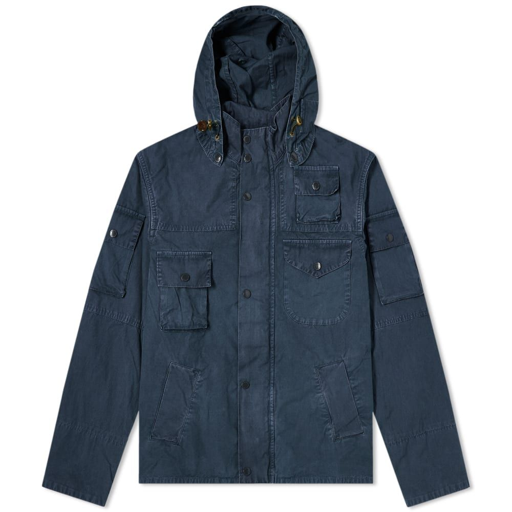 バブアー Barbour メンズ ジャケット アウター【x Engineered Garments Washed Cowen Casual Jacket】Navy