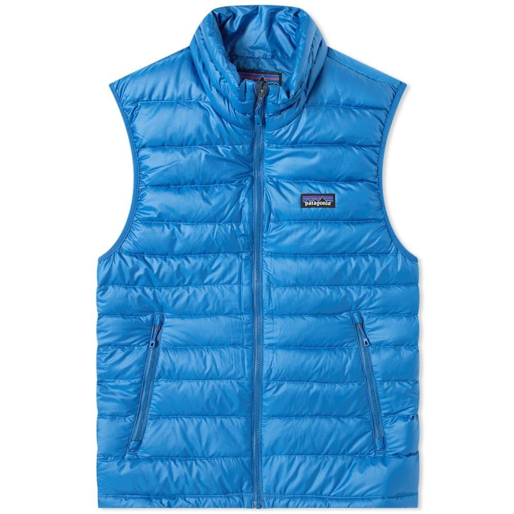 パタゴニア Patagonia メンズ ベスト・ジレ ダウンベスト トップス【Down Sweater Vest】Superior Blue