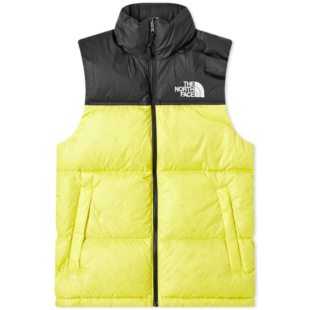 ザ ノースフェイス The North Face メンズ ベスト・ジレ トップス【1996 Retro Nuptse Vest】TNF Lemon