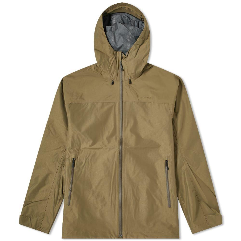 フィルソン Filson メンズ レインコート アウター【Packable Swiftwater Rain Jacket】Olive