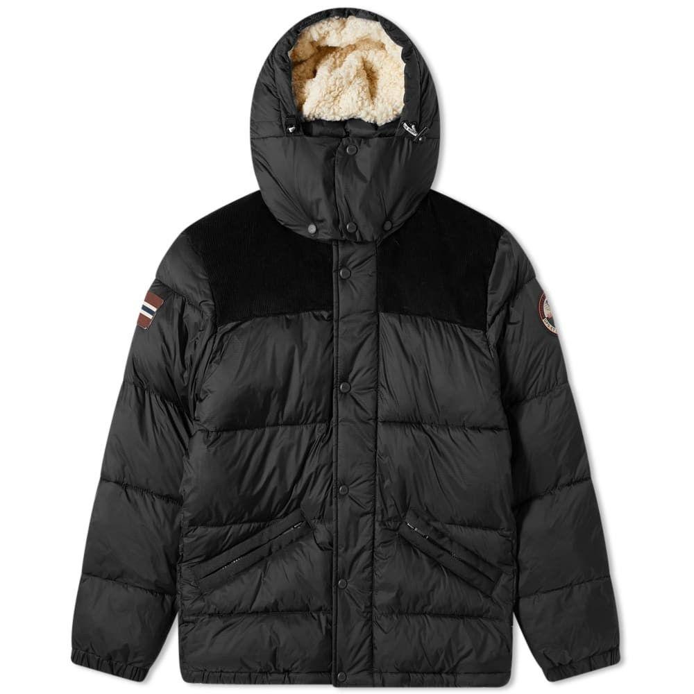 ナパピリ Napapijri メンズ ダウン・中綿ジャケット アウター【Antero Puffer Jacket】Black