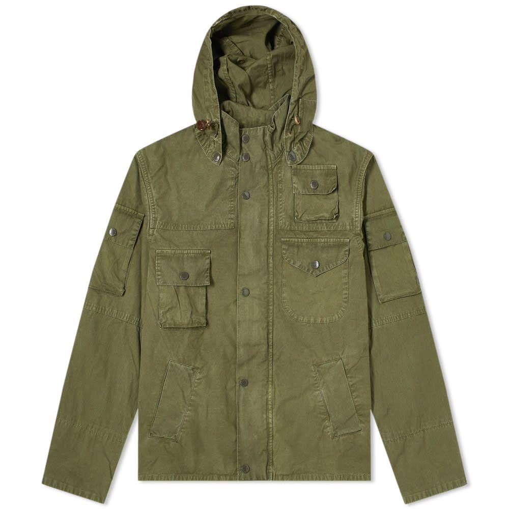 バブアー Barbour メンズ ジャケット アウター【x Engineered Garments Washed Cowen Casual Jacket】Olive