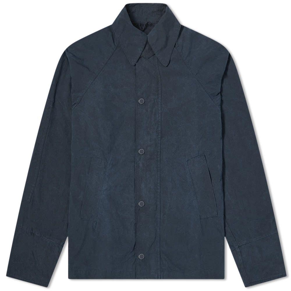 バブアー Barbour メンズ ジャケット アウター【x Engineered Garments Washed Upland Casual Jacket】Navy