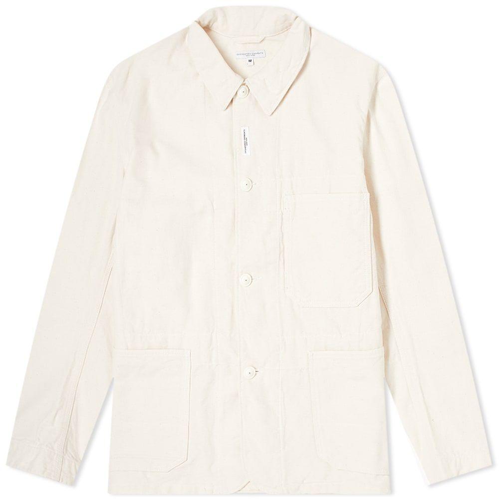 エンジニアードガーメンツ Engineered Garments メンズ ジャケット Gジャン ワークジャケット アウター【Denim Work Jacket】Natural