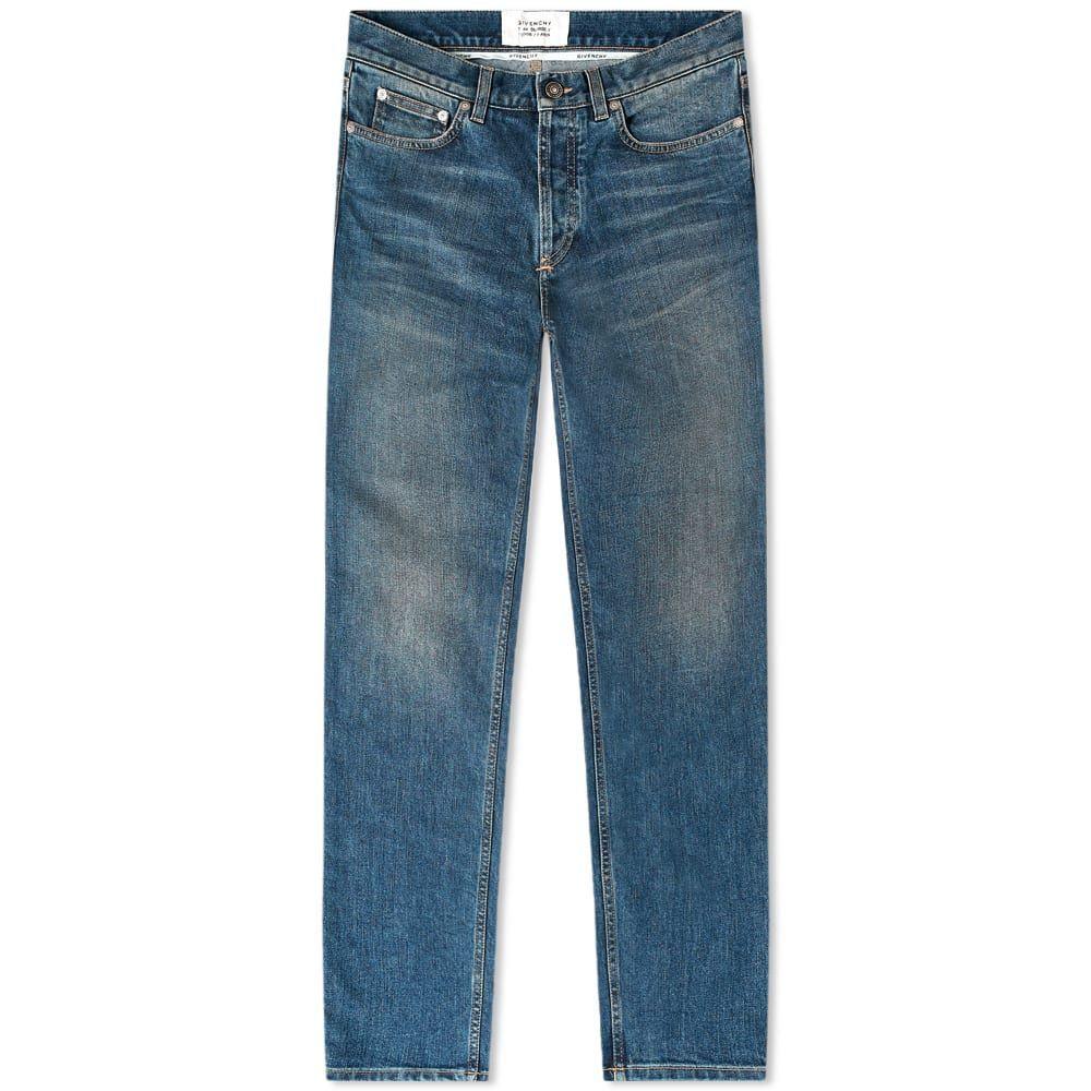 ジバンシー メンズ ボトムス パンツ ジーンズ デニム Medium 購入 Blue Givenchy Patch 入手困難 Skinny サイズ交換無料 Fit Jean Logo