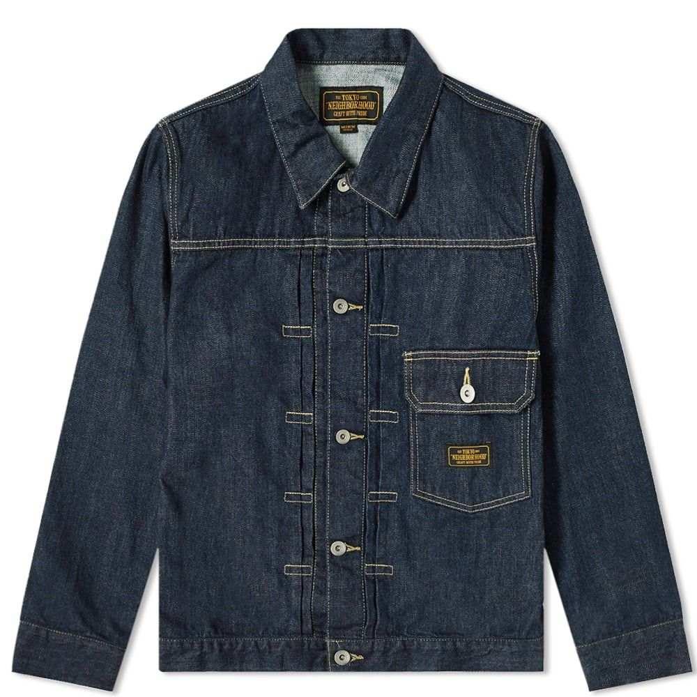 ネイバーフッド Neighborhood メンズ ジャケット アウター【Stockman Type-A Jacket】Indigo