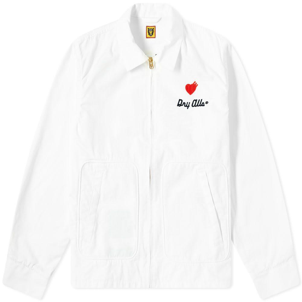 ヒューマンメイド Human Made メンズ ジャケット アウター【Drizzler Jacket】White