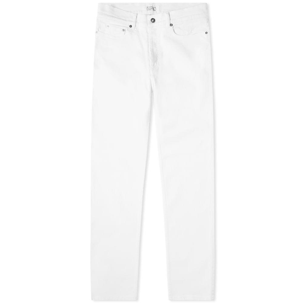 ジバンシー Givenchy メンズ ジーンズ・デニム ボトムス・パンツ【Skinny Fit Logo Patch Jean】White