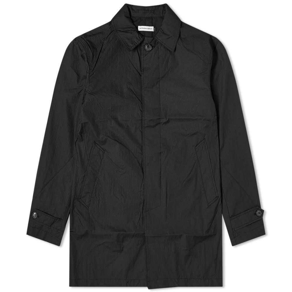 ポップトレーディングカンパニー Pop Trading Company メンズ トレンチコート アウター【Trench Coat】Black