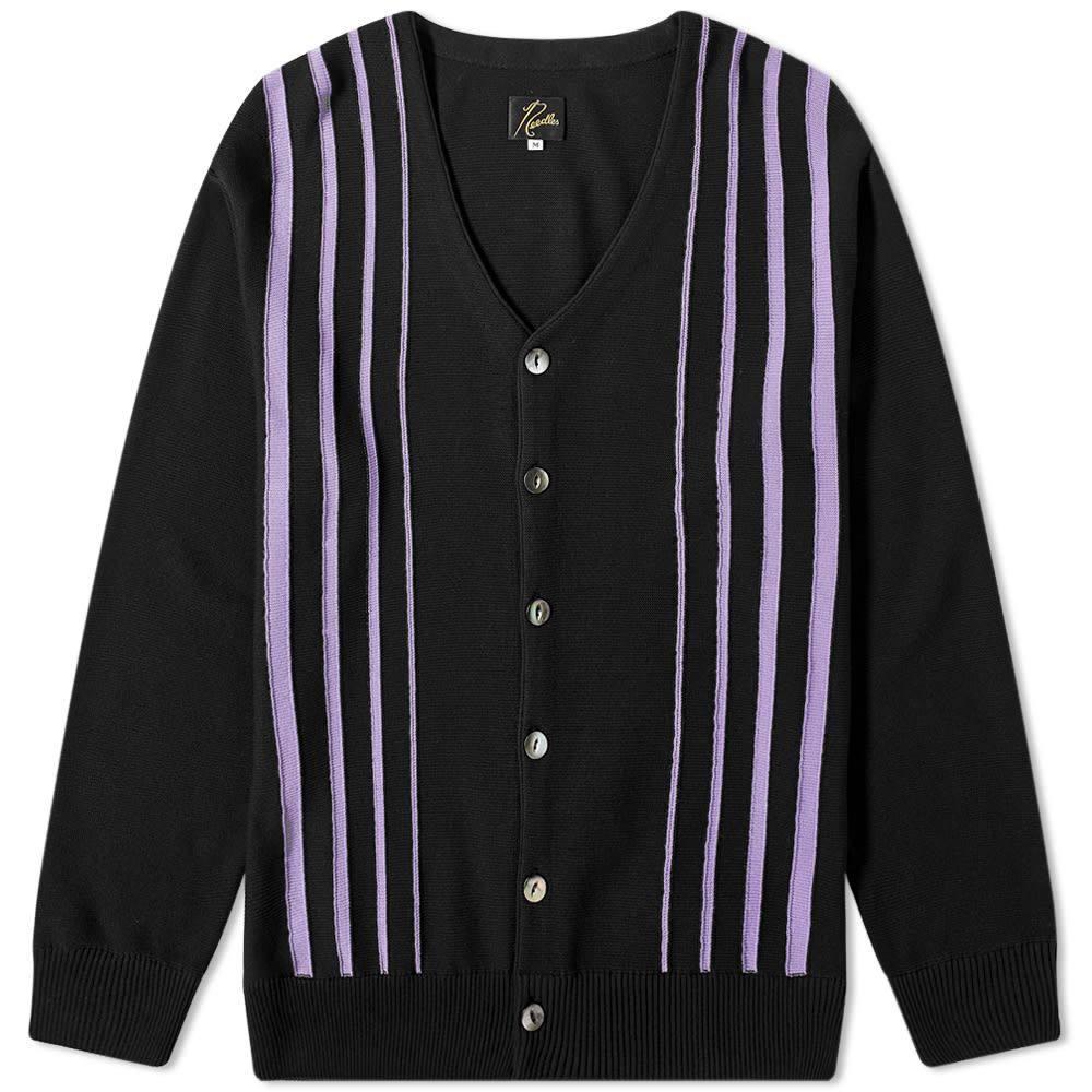 ニードルズ Needles メンズ カーディガン トップス【Striped Cardigan】Black