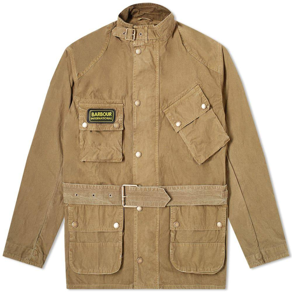 バブアー Barbour メンズ ジャケット アウター【International Summer Washed A7 Casual Jacket】Stone