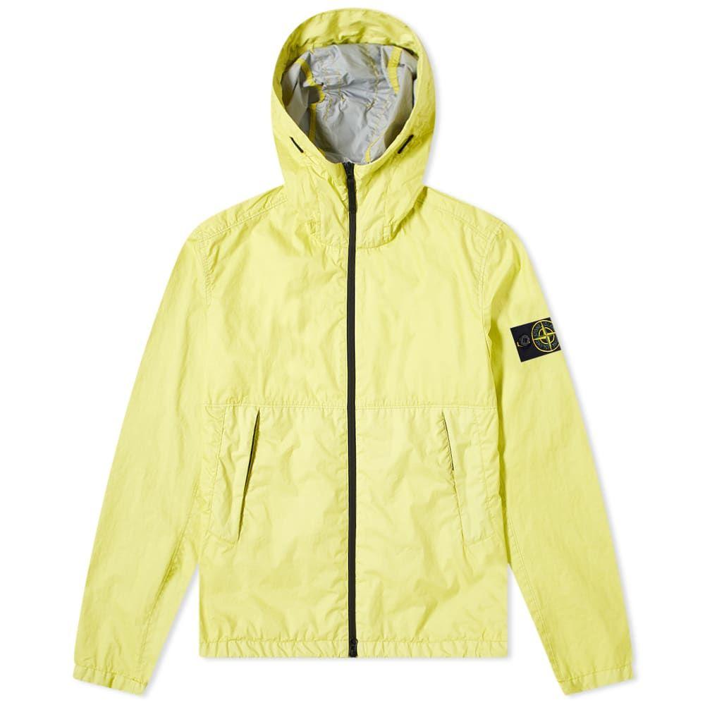 ストーンアイランド Stone Island メンズ ジャケット フード アウター【Membrana 3L TC Hooded Jacket】Lemon