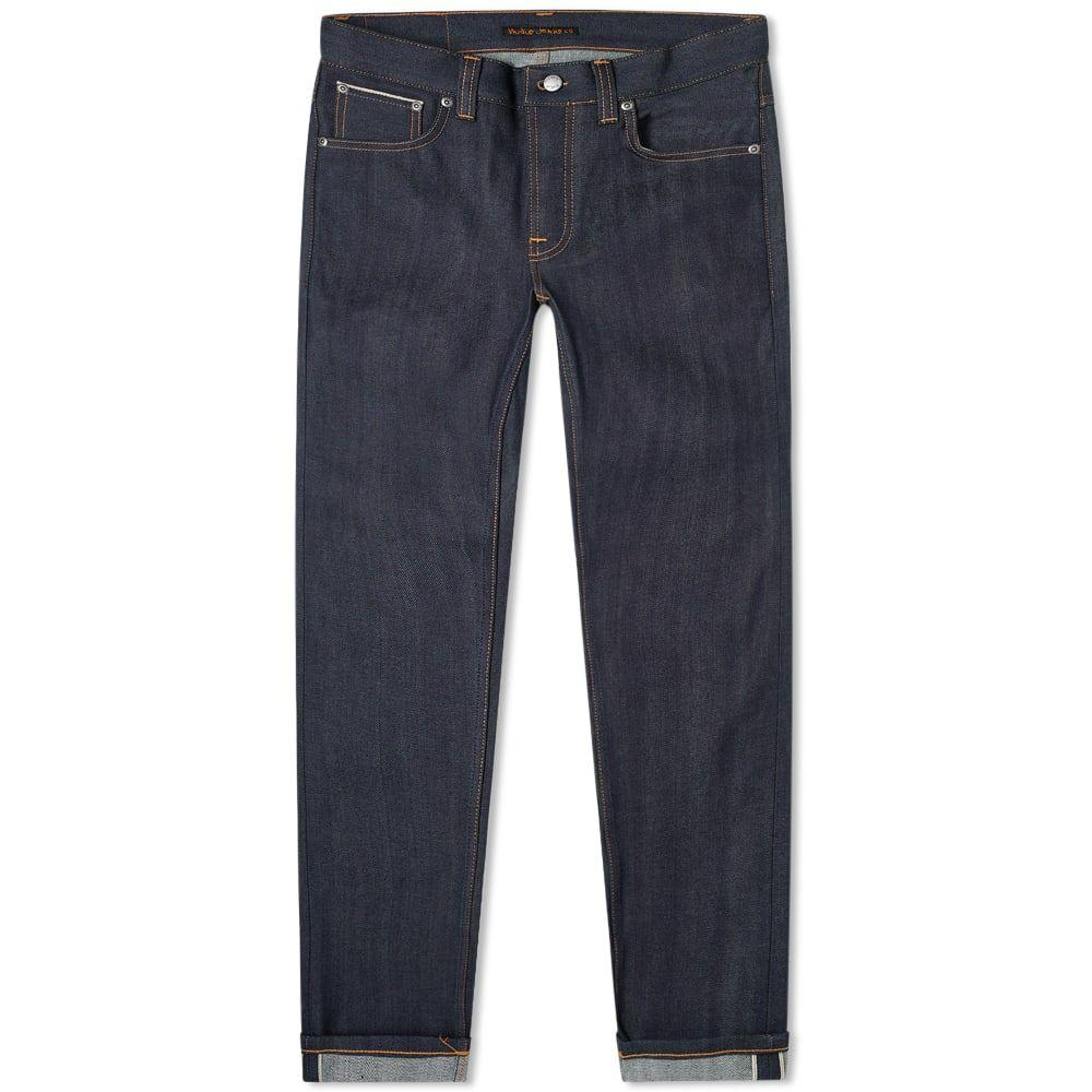 ヌーディージーンズ Nudie Jeans Co メンズ ジーンズ・デニム ボトムス・パンツ【Nudie Grim Tim Jean】Dry Deep Selvage
