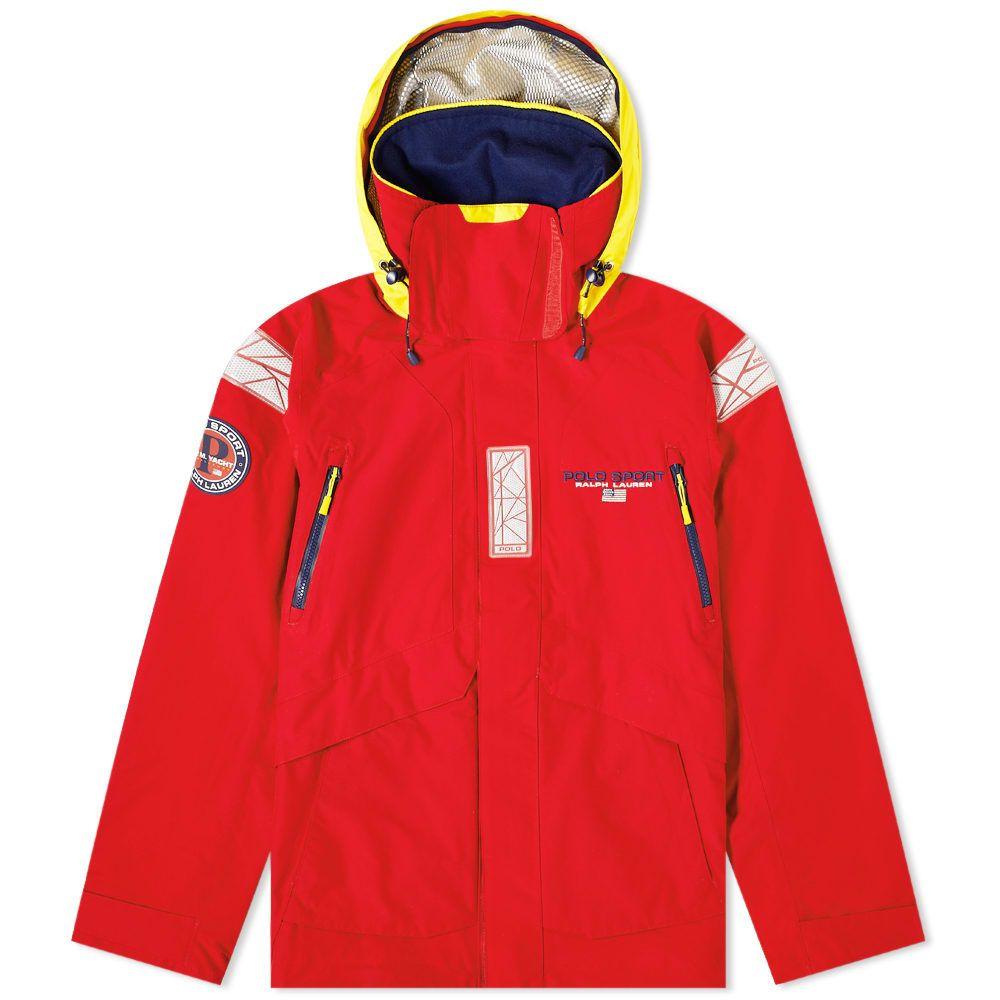ポロスポーツ Polo Sport メンズ ジャケット アウター【Polo Ralph Lauren Sailing Jacket】Red