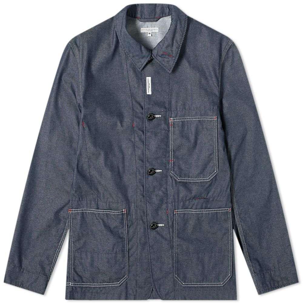 エンジニアードガーメンツ Engineered Garments メンズ ジャケット Gジャン ワークジャケット アウター【Denim Work Jacket】Indigo