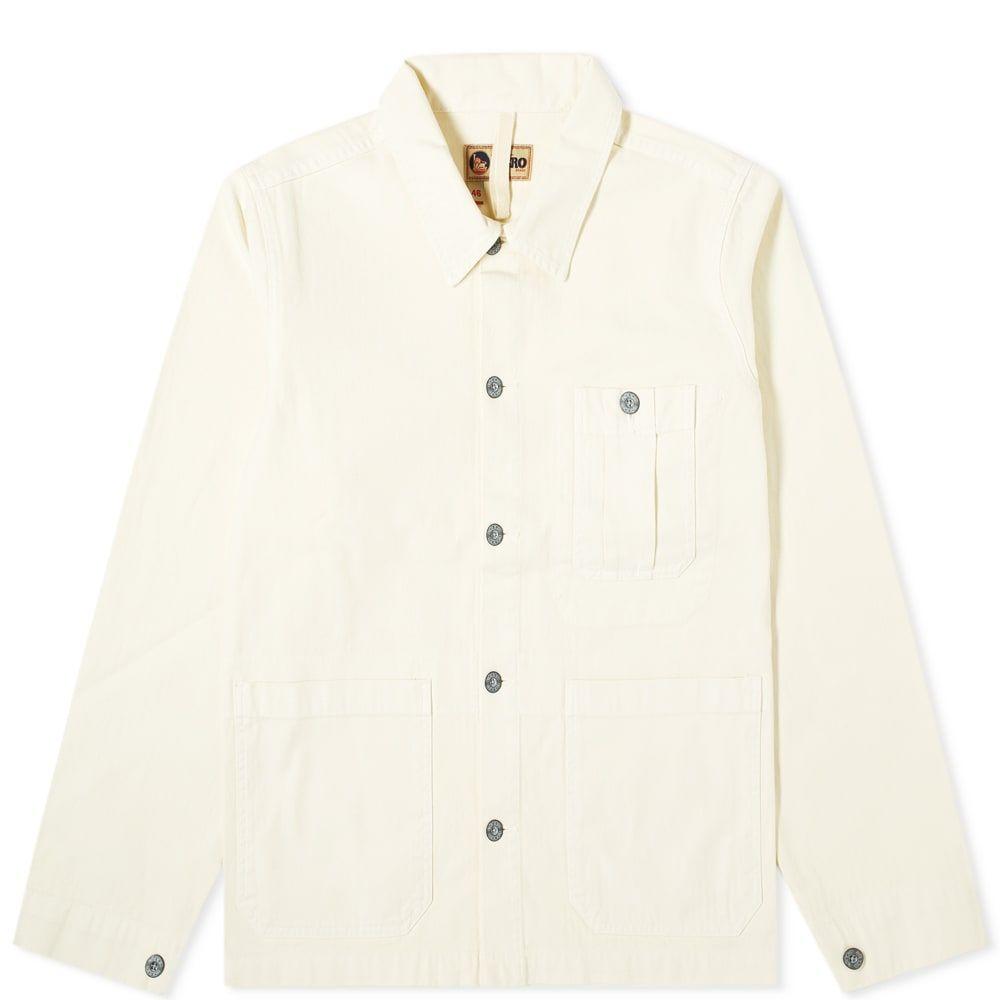ナイジェルケーボン Nigel Cabourn メンズ ジャケット アウター【British Army Jacket】Chalk White