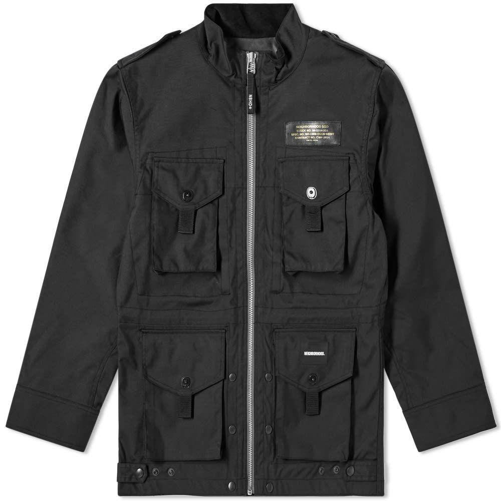 ネイバーフッド Neighborhood メンズ ジャケット アウター【Paratrooper Jacket】Black