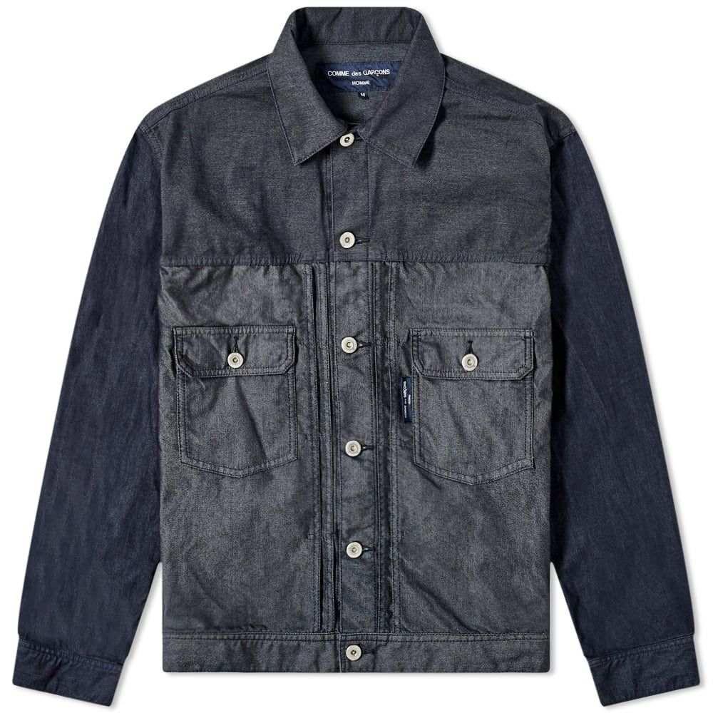 コム デ ギャルソン Comme des Garcons Homme メンズ ジャケット アウター【Garment Dyed Twill Jacket】Navy Mix