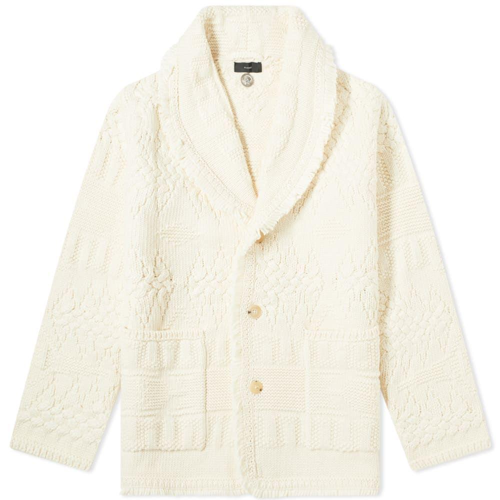 アラヌイ Alanui メンズ カーディガン トップス【Icon Stitches Cardigan】Off-White