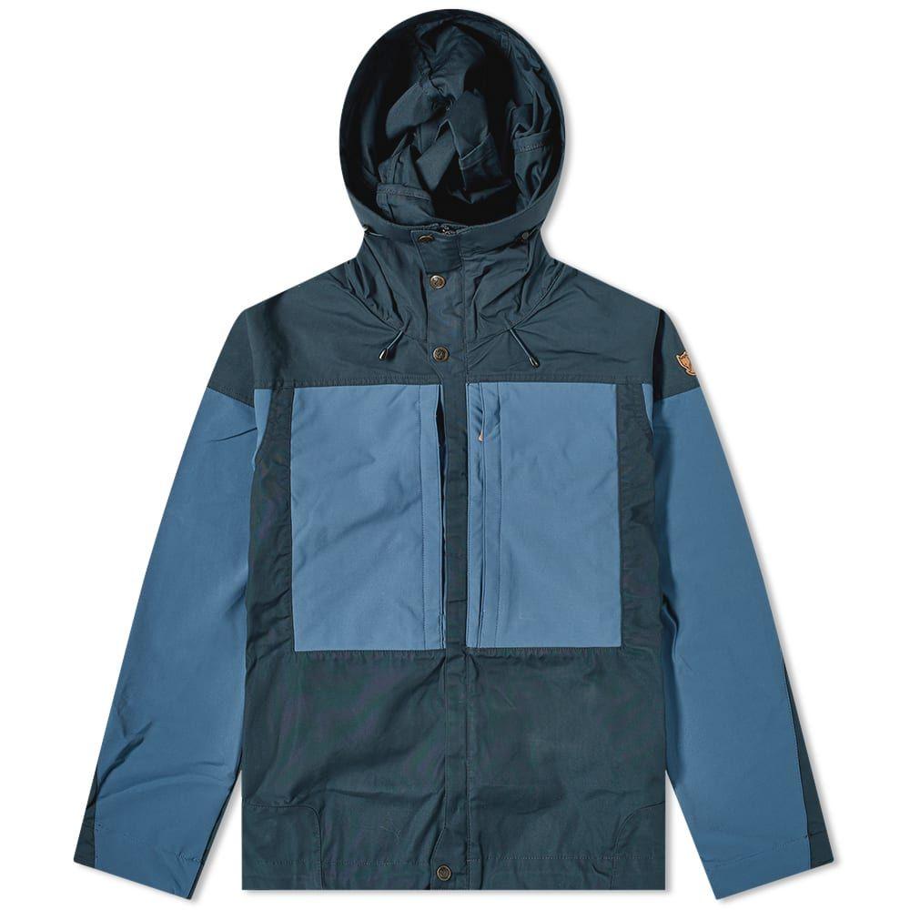 フェールラーベン Fjallraven メンズ ジャケット アウター【Keb Jacket】Dark Navy/Uncle Blue