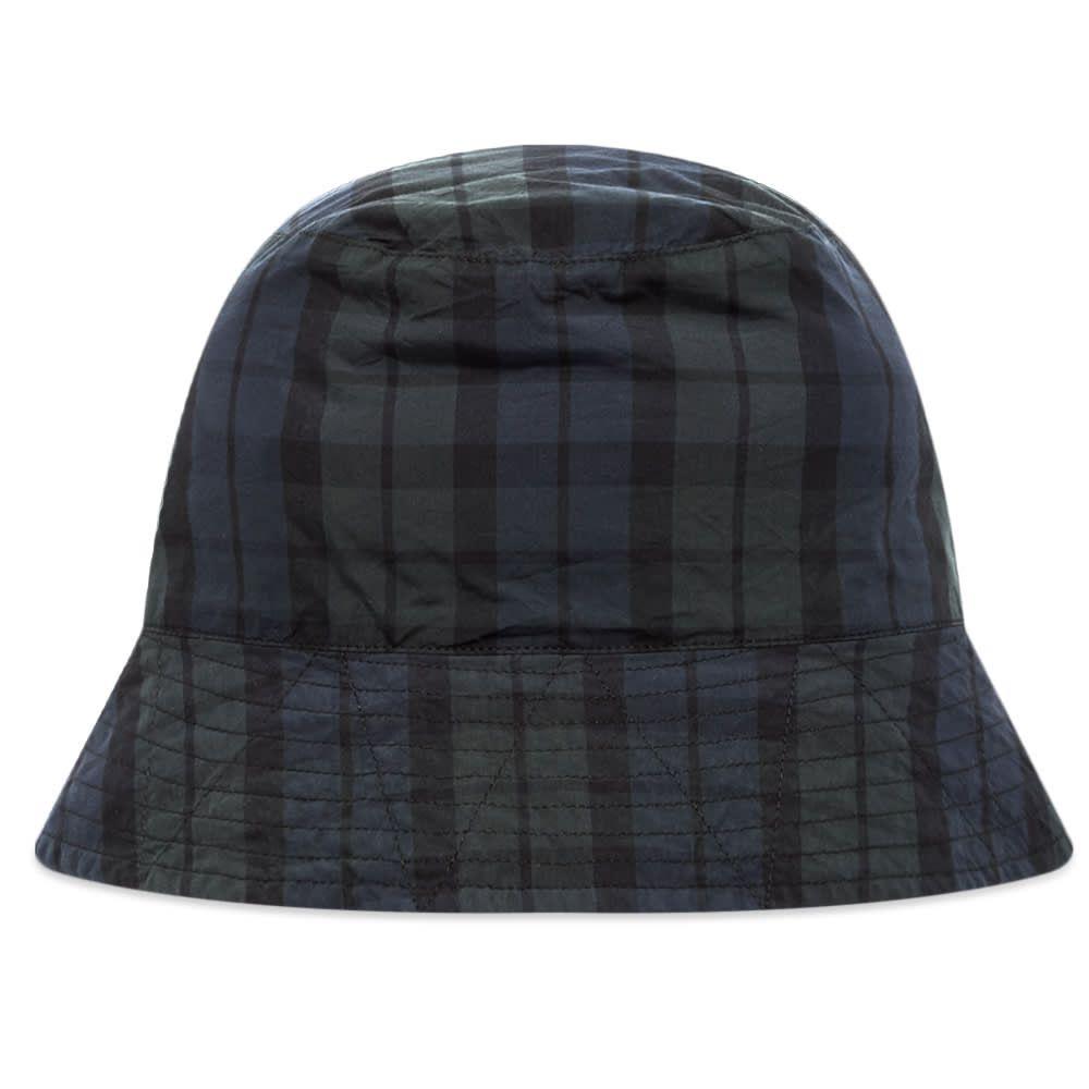 エンジニアードガーメンツ Engineered Garments メンズ ハット バケットハット 帽子【Blackwatch Tartan Bucket Hat】Black Watch