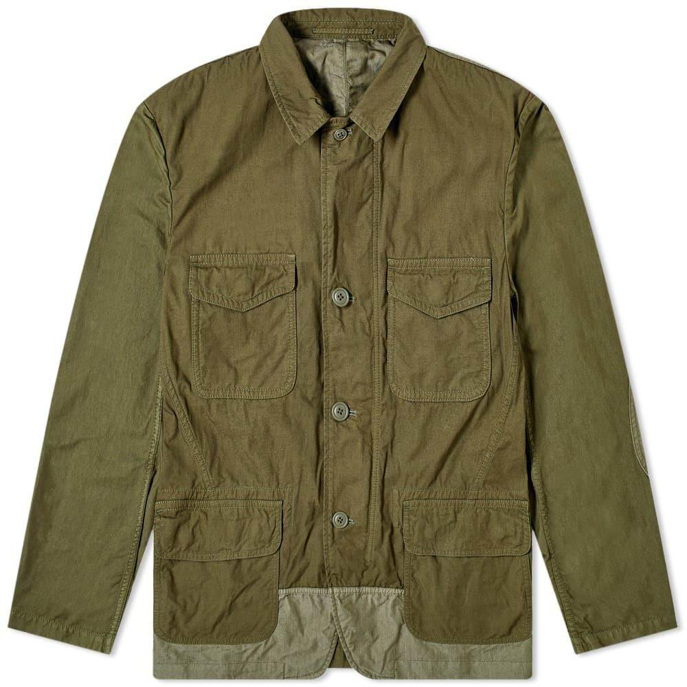 コム デ ギャルソン Comme des Garcons Homme メンズ ジャケット アウター【Garment Dyed Multi Pocket Jacket】Green Mix