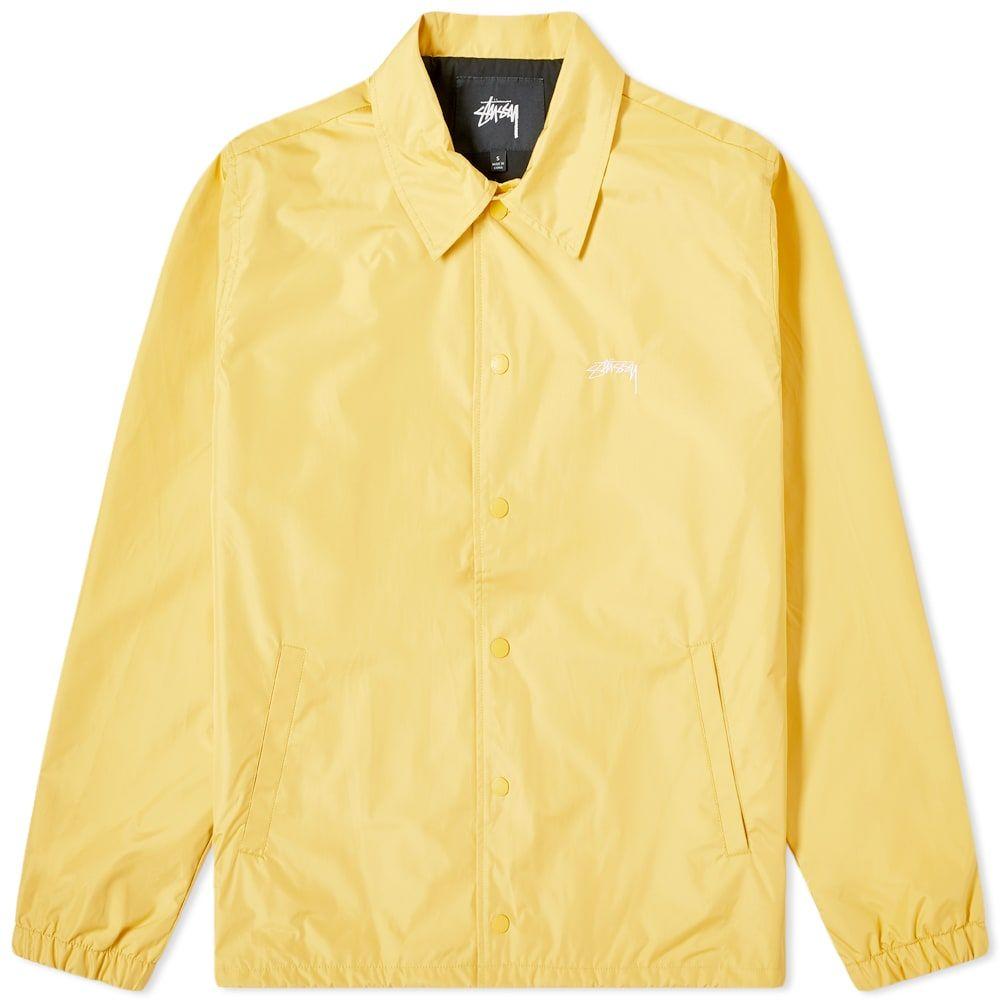 ステューシー Stussy メンズ ジャケット コーチジャケット アウター【Cruize Coach Jacket】Yellow