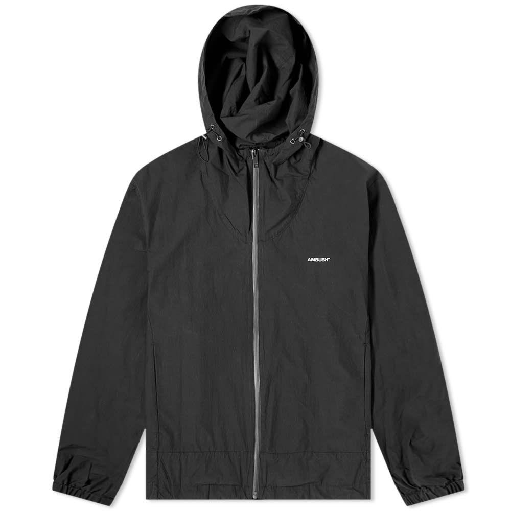 アンブッシュ Ambush メンズ ジャケット フード アウター【Full Zip Hooded Logo Jacket】Black