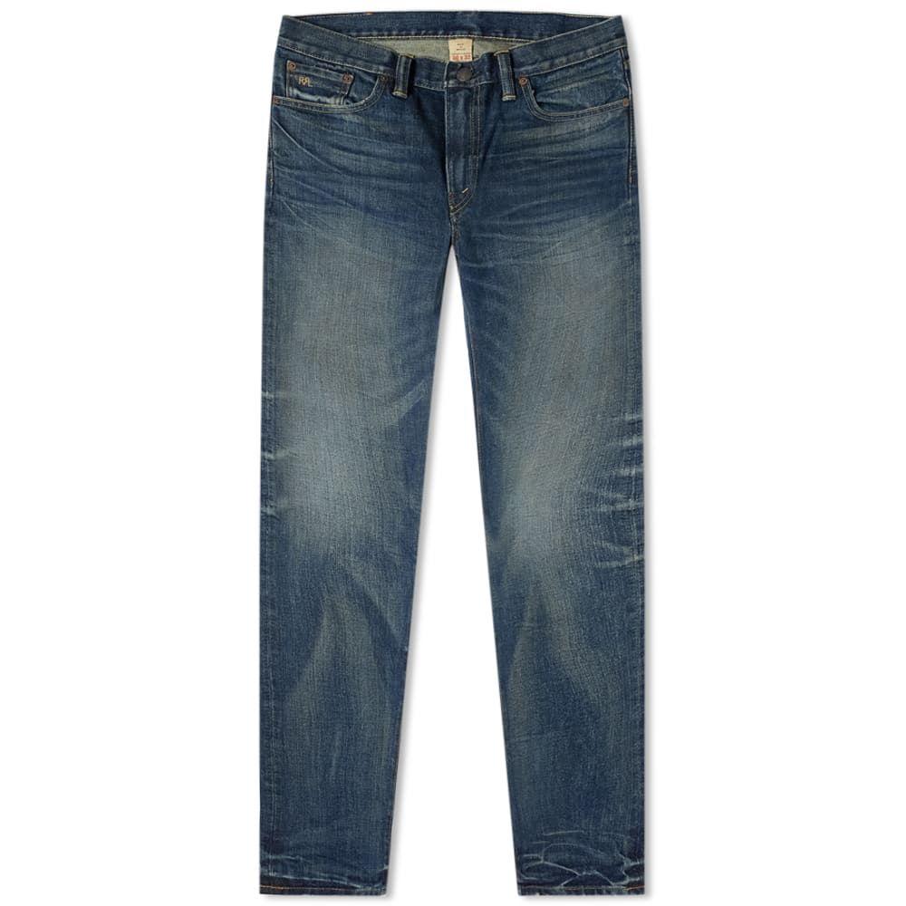 ダブルアールエル RRL メンズ ジーンズ・デニム ボトムス・パンツ【Slim Narrow Jean】Mayes Wash