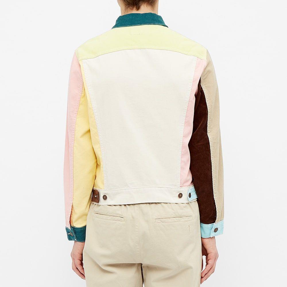 リーバイス Levis Vintage Clothing メンズ ジャケット アウター Levi's Vintage Clothing Type III Patchwork Cord Jacket MultiXN0knOP8Zw