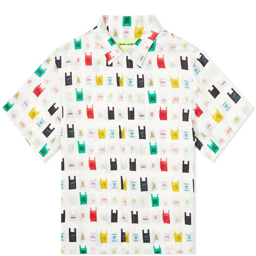 スタジオ アルケ Studio ALCH メンズ シャツ トップス【Carrier Bag Archive Shirt】Multi