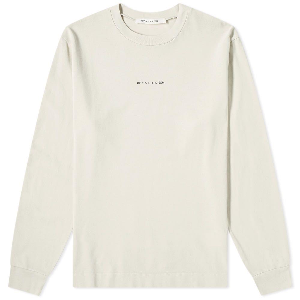 アリクス 1017 ALYX 9SM メンズ 長袖Tシャツ トップス【Long Sleeve Back Print Tee】Sand