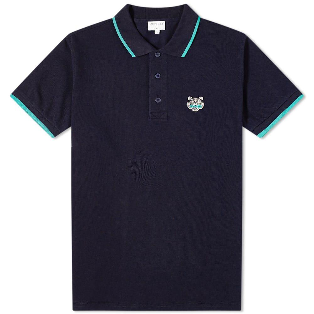 ケンゾー Kenzo メンズ ポロシャツ トップス【Tiger Polo】Midnight Blue