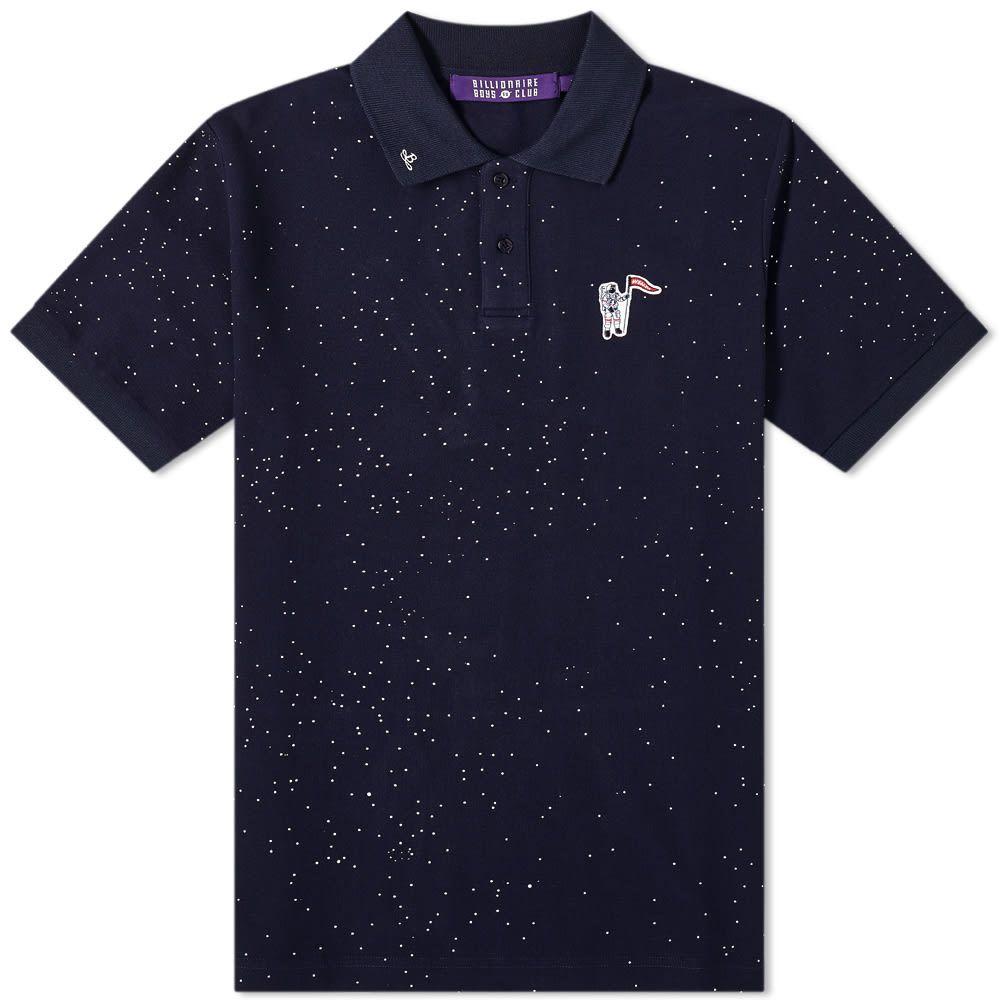 ビリオネアボーイズクラブ Billionaire Boys Club メンズ ポロシャツ トップス【Deep Space Pique Polo Shirt】Navy