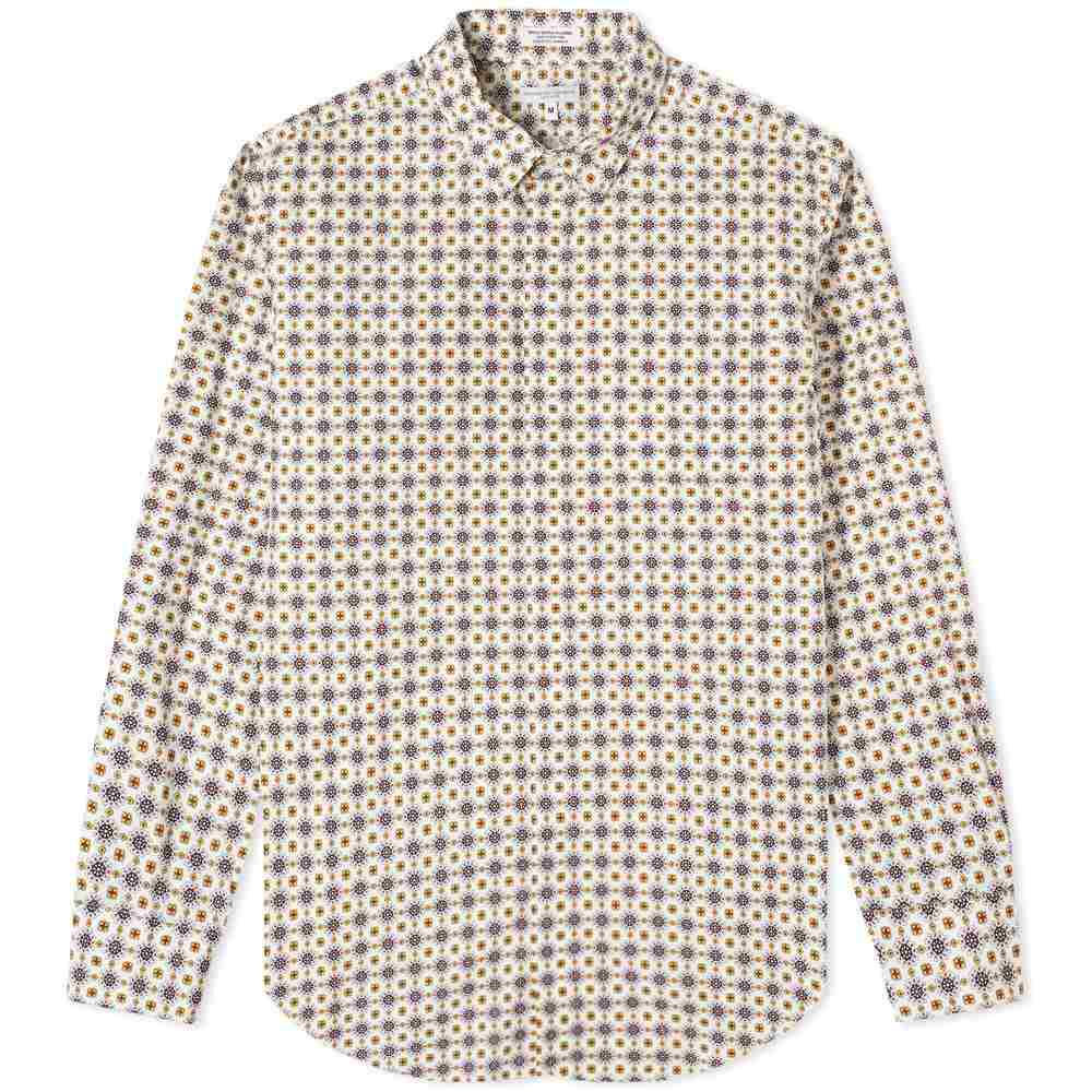 エンジニアードガーメンツ Engineered Garments メンズ シャツ トップス【Batik Short Collar Shirt】White