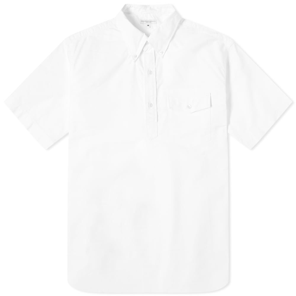 エンジニアードガーメンツ Engineered Garments メンズ 半袖シャツ トップス【Popover Shirt】White