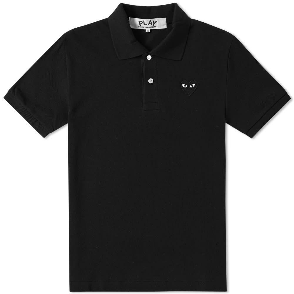 コム デ ギャルソン Comme des Garcons Play メンズ ポロシャツ トップス【Black Heart Polo】Black