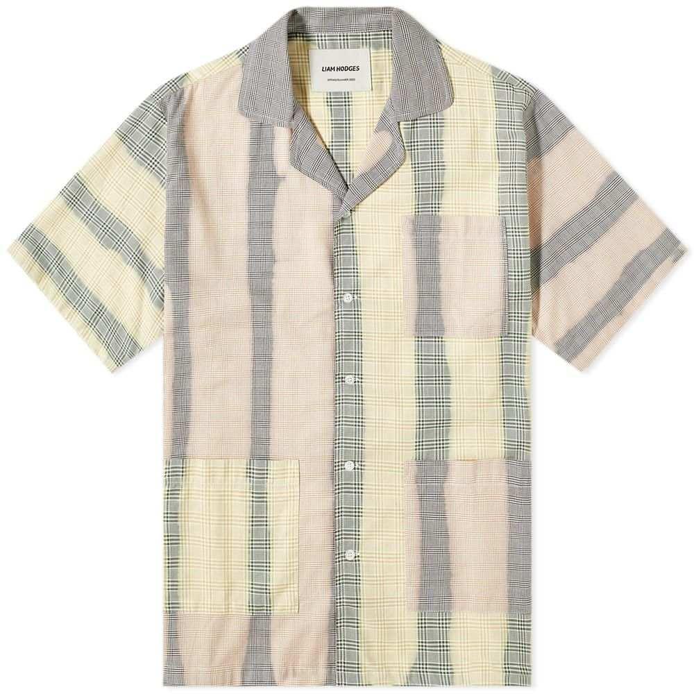リアムホッジ Liam Hodges メンズ 半袖シャツ トップス【Solar Flair Shirt】Multi