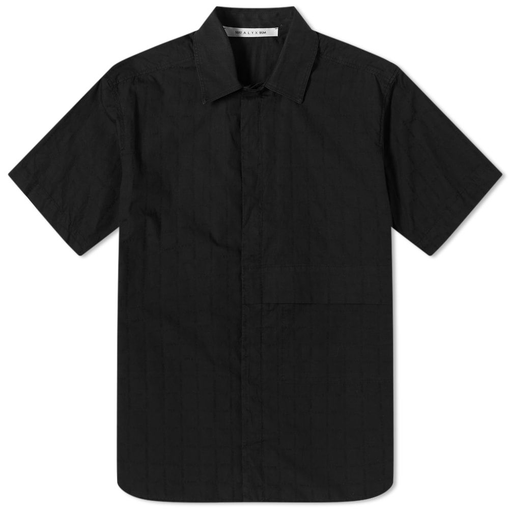 アリクス 1017 ALYX 9SM メンズ 半袖シャツ トップス【Tonal Print Short Sleeve Shirt】Black