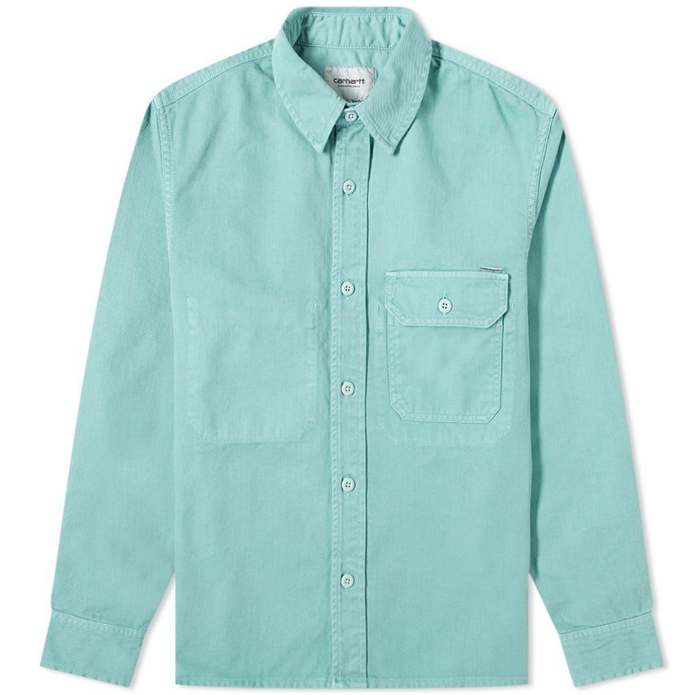 カーハート Carhartt WIP メンズ シャツ トップス【Reno Garment Dyed Shirt】Zola