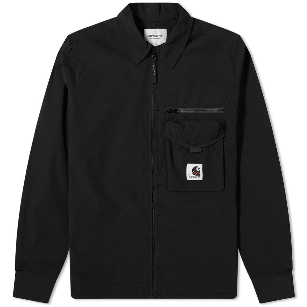 カーハート Carhartt WIP メンズ ジャケット シャツジャケット アウター【Hayes Shirt Jacket】Black
