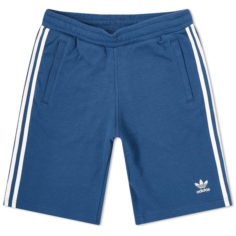 アディダス Adidas メンズ ショートパンツ ボトムス・パンツ【3-Stripe Short】Night Marine