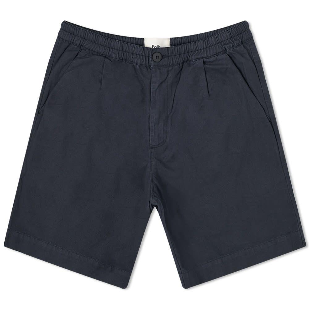 フォーク Folk メンズ ショートパンツ ボトムス・パンツ【Loom Short】Navy