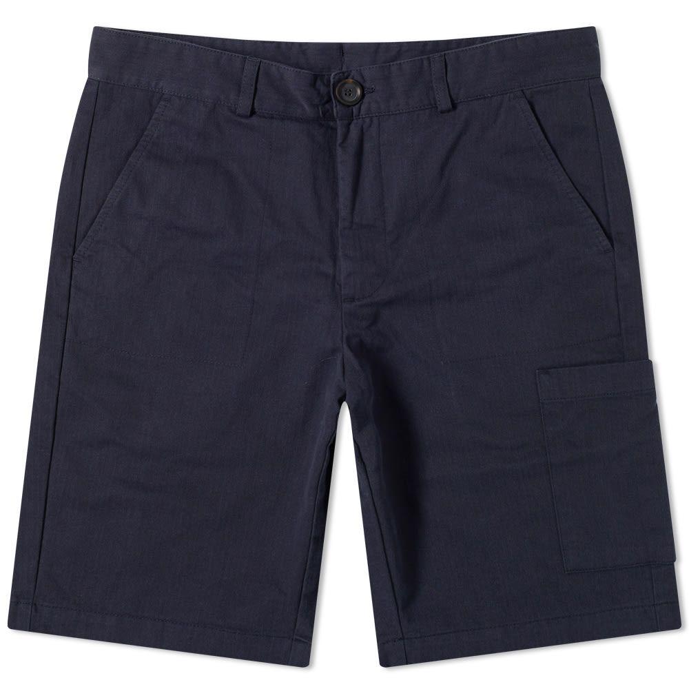 オリバー スペンサー Oliver Spencer メンズ ショートパンツ ボトムス・パンツ【Judo Short】Navy