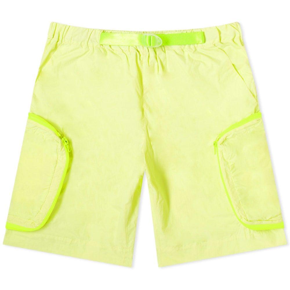 スタジオ アルケ Studio ALCH メンズ ショートパンツ ボトムス・パンツ【Nylon Short】Lime