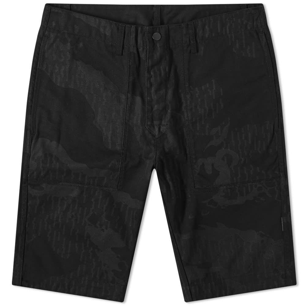 マハリシ Maharishi メンズ ショートパンツ ボトムス・パンツ【Organic Camo Deck Short】Night
