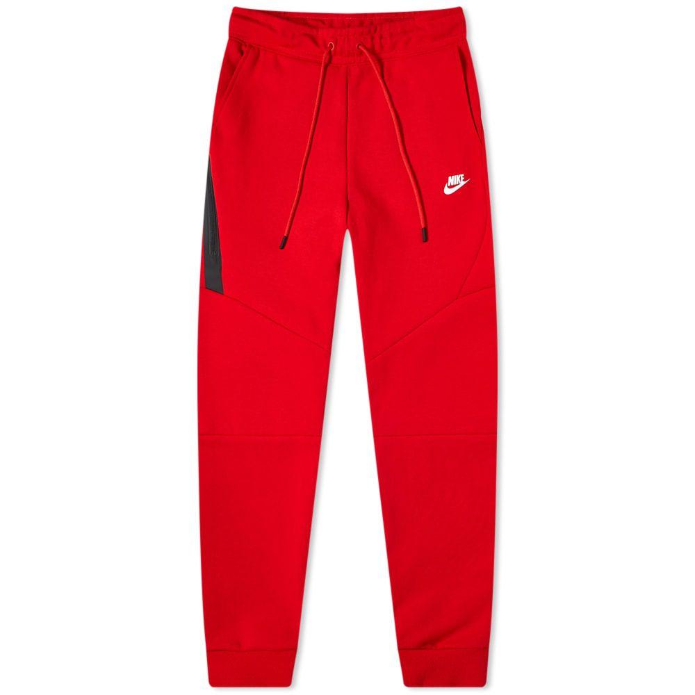 ナイキ Nike メンズ ジョガーパンツ ボトムス・パンツ【Tech Fleece Jogger】University Red/White