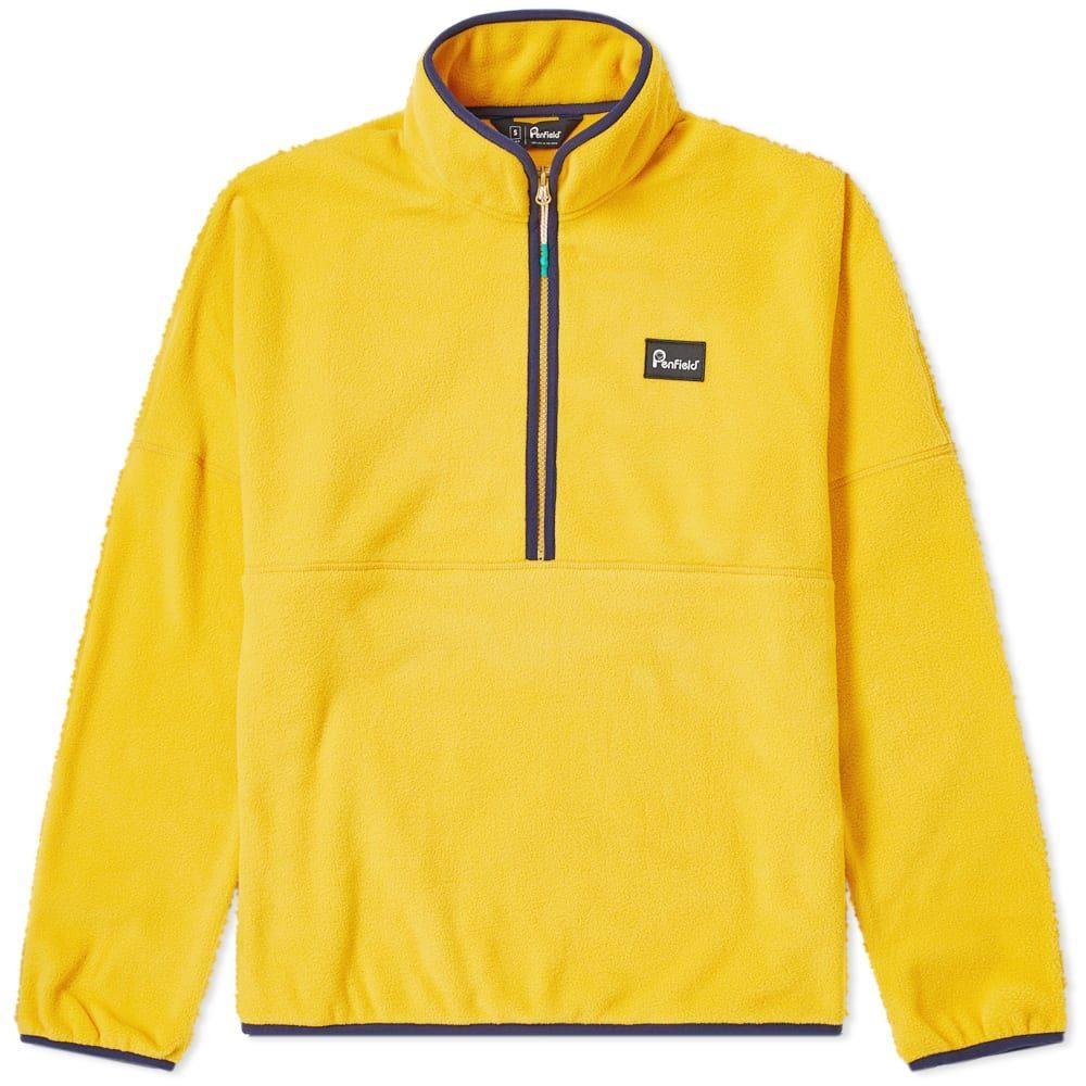 ペンフィールド Penfield メンズ フリース トップス【Melwood Fleece】Mineral Yellow