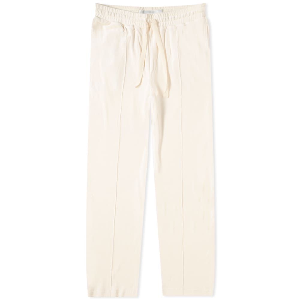 カサブランカ Casablanca メンズ スウェット・ジャージ ボトムス・パンツ【Velour Track Pant】Off White