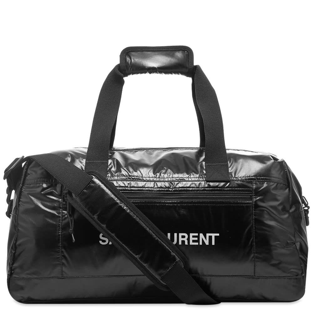 イヴ サンローラン Saint Laurent メンズ ボストンバッグ・ダッフルバッグ バッグ【ripstop duffle bag】Black/White